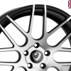 Cades Artemis Alloy Wheels 19 inch 5x112 (ET40) | Black Polish x 4
