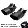 HAWKE Black Exhaust Tips for Range Rover Sport & L322 Vogue