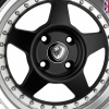 15x8.0 4x100 ET20 Cades Blast Stealth (now discontinued)