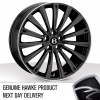 20x8.5 5x120 ET48 HAWKE Chayton Black Lip Polish