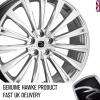 22x9.5 5x112 ET30 HAWKE Chayton High Power Silver