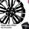 HAWKE Harrier Alloy Wheels 20 inch 5x108 (ET45) | Black Polish x 4