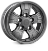18x9.0 5x165 ET25 HAWKE Osprey Widetrack Frozen Grey