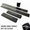 HAWKE Door Sill Protection Kit Black Leathergrain Vinyl for Range Rover Vogue