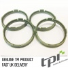 Set of Four Spigot Rings 73.0 - 65.1 Tpi Olive Green