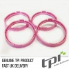 Set of Four Spigot Rings 72.5 - 64.1 Tpi Pink