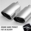 HAWKE Chrome Supercharged Exhaust Tips for Range Rover Sport 2005-2009 Supercharged Cars Only