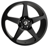 20x8.5 5x120 ET40 Cades Vulcan Matt Black VW T5 fit