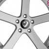 19x8.5 5x120 ET15 Cades Apollo High Power Silver Crest