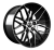 20x10 5x120 ET43 Cades Hera Black Polished BMW fit
