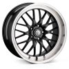 Cades Tyrus Alloy Wheels 19 inch 5x112 (ET45) | Black lip Polish x 4