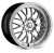 19x8.5 5x120 ET38 Cades Tyrus High Power Silver