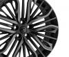 22x9.5 5x120 ET35 HAWKE Vega (Flow Formed) Black Shadow
