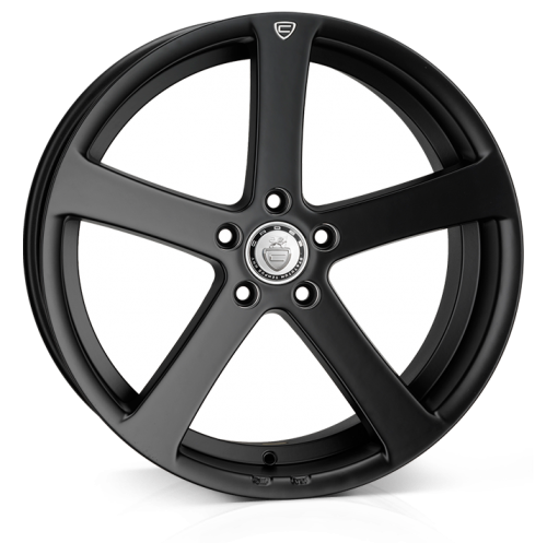 19x8.5 5-112 ET40 Cades Apollo Matt Black Crest