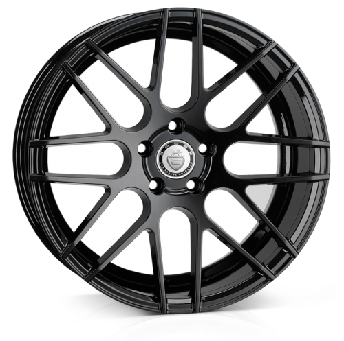 Cades Artemis wheels 18 x 8J 5-120 | Matt Black Set of four