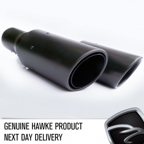 HAWKE 2010 Straight fit Exhaust Tips with Carbon shells for Range Rover Sport 2009-2013