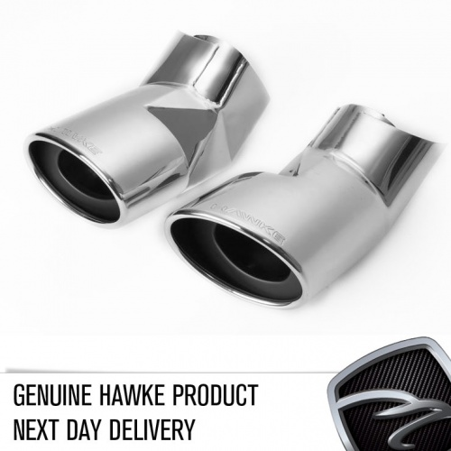 HAWKE Chrome Exhaust Tips for Range Rover Sport & L322 Vogue