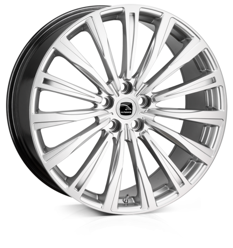 HAWKE Chayton wheels 20 inch 5-120 | Silver - Set of four