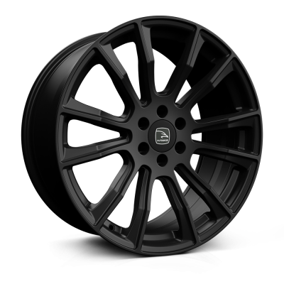 HAWKE Denali Alloy Wheels 20 inch 6x114 (ET40) | Matt Black x 4 | fits Mercedes X Class and Nissan SUVs models