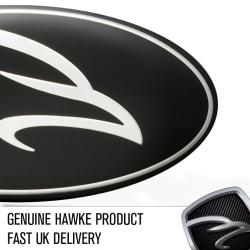 HAWKE Crested Range Rover Grille Badge