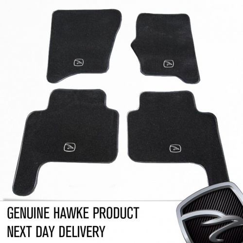 HAWKE Black Carpet Mat set for Land Rover Discovery 3