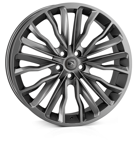 HAWKE Harrier wheels 22 inch 5-120 | Gunmetal - Set of four
