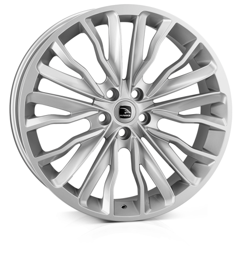 HAWKE Harrier wheels 22 inch 5-120 | Silver - Set of four
