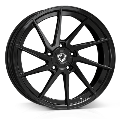 Cades Kratos Alloy Wheels 18 inch 5x112 (ET45) | Gloss Black x 4