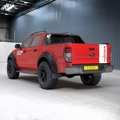HAWKE AWD Graphics Pack for Ford Ranger models 2015 onwards