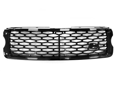L405 SVO Look Front Grille Full Black to fit Range Rover Vogue L405 2013 Onward