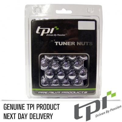 12x1.50 20D 33L TPi SD (Tuner) Nutz Steel Chrome 20 Pack with Locks