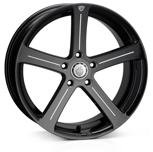 19x9.5 5-120 ET45 Cades Apollo Accent Black