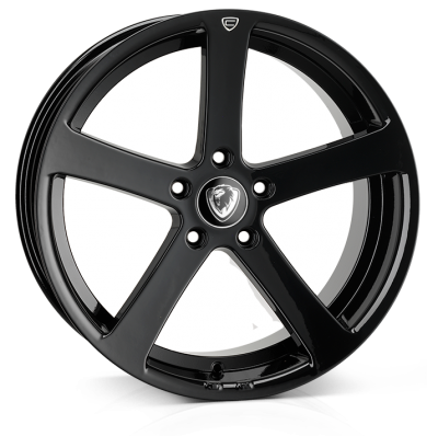 19x9.5 5-120 ET45 Cades Apollo JET Black Crest