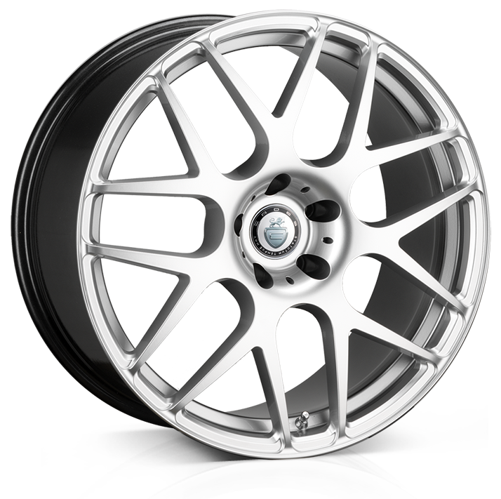 18x9.0 5-112 ET45 Cades Bern High Power Silver