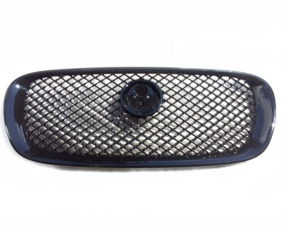 Jaguar XF Front Grille - Black With Black Mesh
