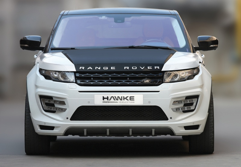Aftermarket Range Rover Evoque Fitment Body Kit with triple exhausts