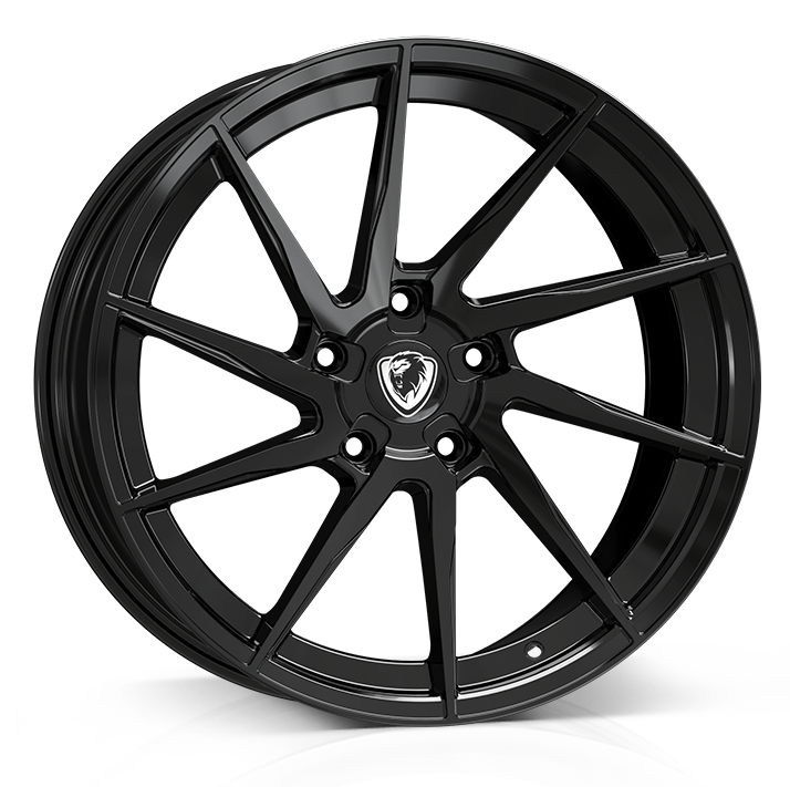 18x8 5x120 ET35 Cades Kratos Gloss Black