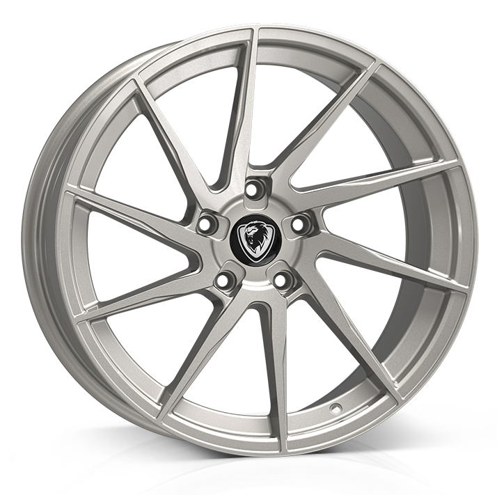 18x8 5x120 ET35 Cades Kratos High Power Silver