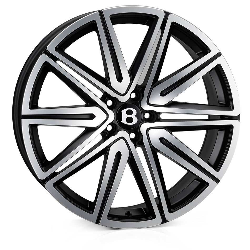 SSR SSR II Alloy Wheels 21 inch 5x112 (ET35) | Matt Black Polish x 4