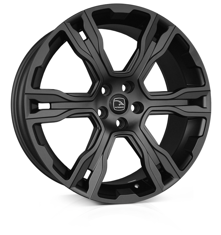 HAWKE Spirit wheels 22 inch 5-120 | Gloss Black - Set of four