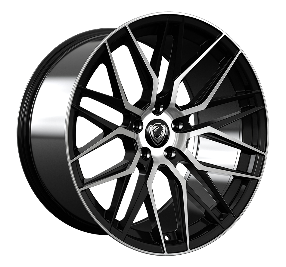 Cades Hera wheels 20 inch BMW | Black Polished - Set of four (wider rears)