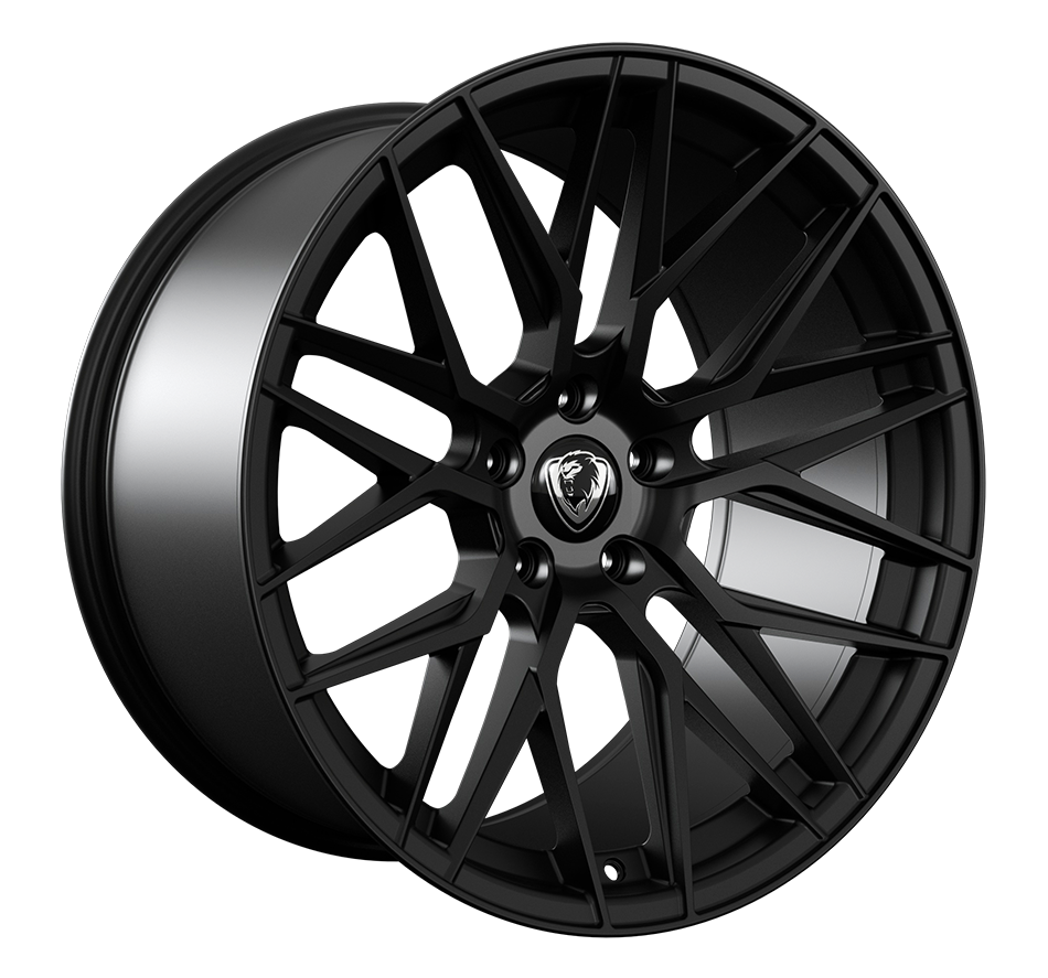 20x9.0 5x120 ET32 Cades Hera Matt Black BMW fit