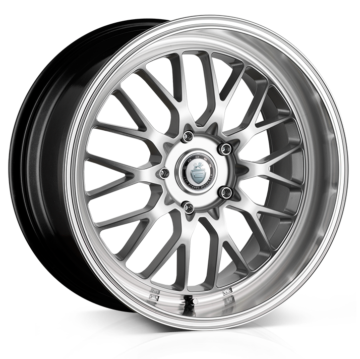 18x9.0 5x120 ET22 Cades Tyrus High Power Silver