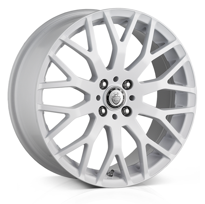Cades Vienna Alloy Wheels 17 inch 4x100 (ET38) | White x 4