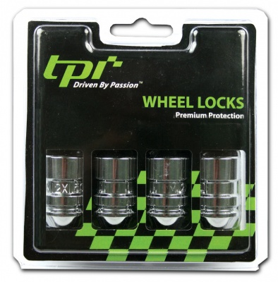 1/2 with 19/21 Hex TPi Tapered Locking Wheel Nuts Closed