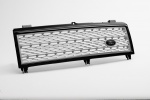 HAWKE Supercharged Grille L322 Range Rover 2002 - 2006 Black with Silver