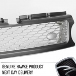 HAWKE Autobiography Look Grille Range Rover Sport 10 Grey / Silver PRICE BLITZ