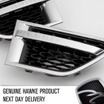 2010 AB style Side Vents Chrome with Black Range Rover Sport 2009 - 2013