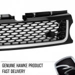 2010 AB Style Front Grille full Black with Silver Trim Range Rover Sport 2009 - 2013