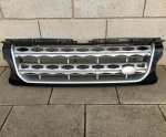 HAWKE Discovery 4 FACELIFT Aftermarket Grille Black Silver Mesh XXV Disco 4 LR4
